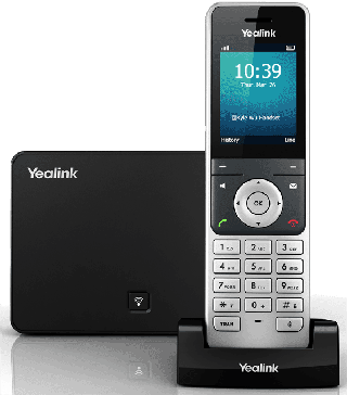 Yealink W56p handset and base